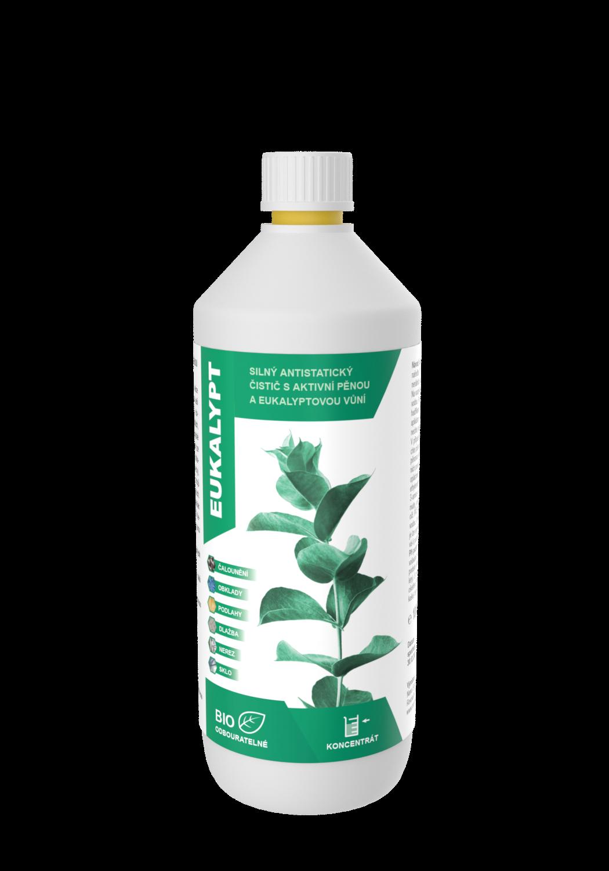 Čistič na podlahy s vůní Eukalyptu 1000 ml Akce 2+1 ZDARMA
